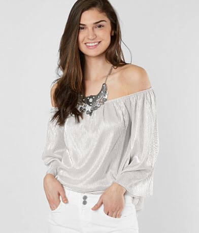 Love On A Hanger Off The Shoulder Top