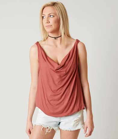 Daytrip Cowl Neck Tank Top