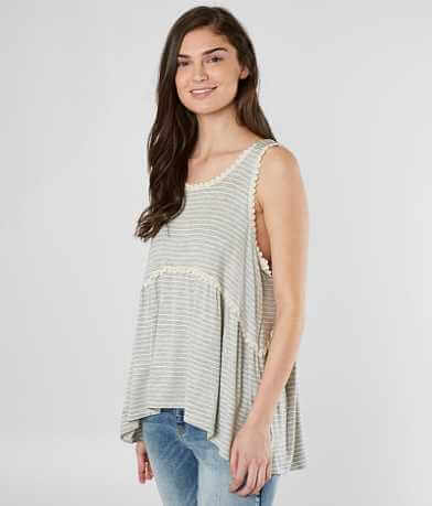 Love On A Hanger Striped Tank Top