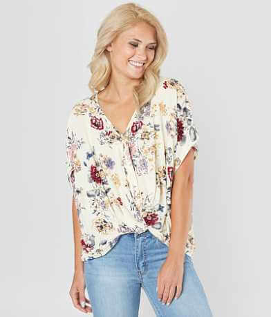 Daytrip Floral Twist Top