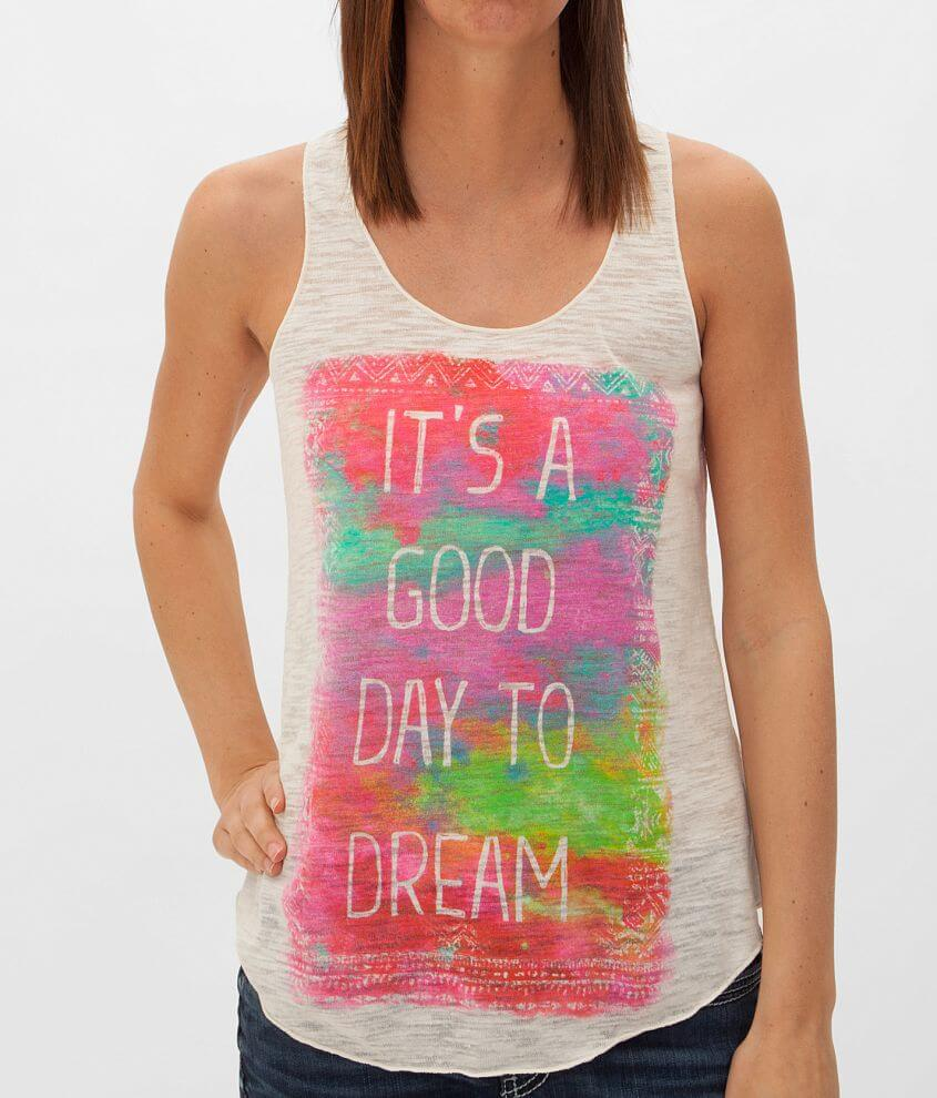Eyeshadow It's A Good Day To Dream Tank Top front view