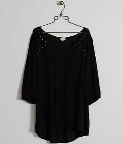 Eyeshadow Studded Top - Plus Size Only