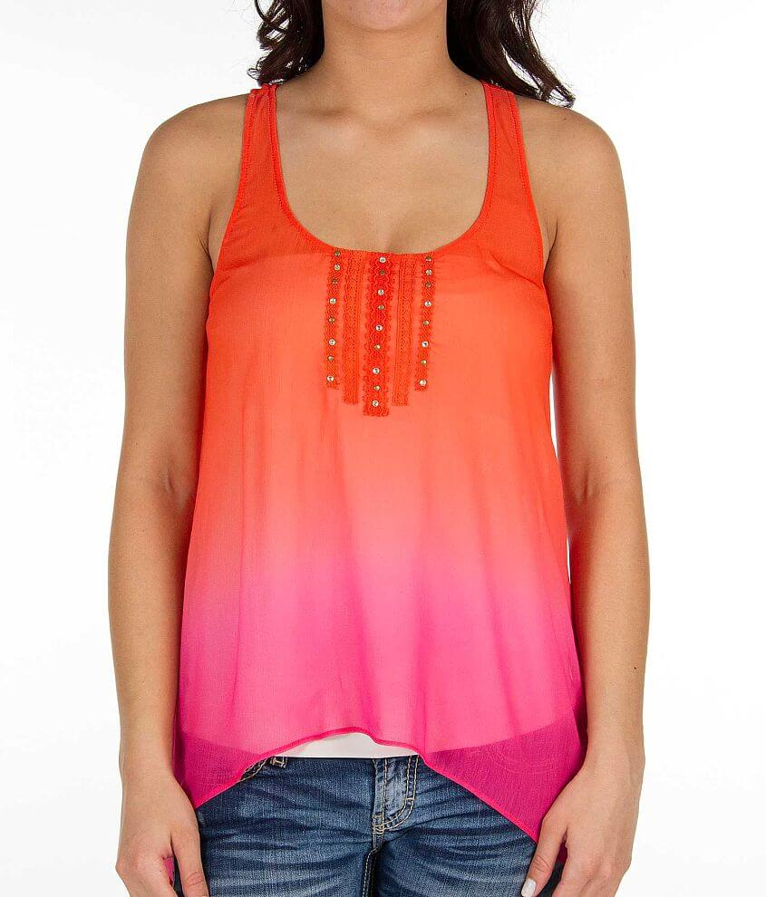 Daytrip Ombre Tank Top front view
