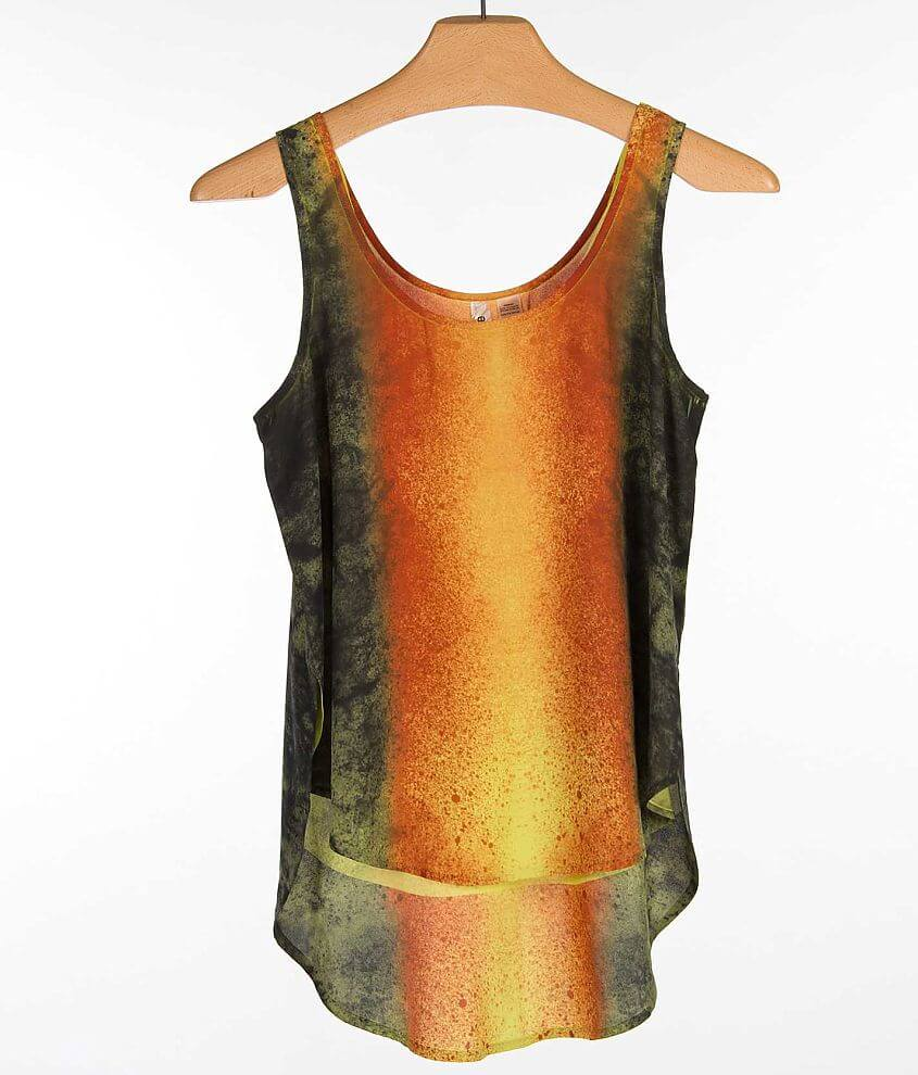 Eyeshadow Sublimated Tank Top front view