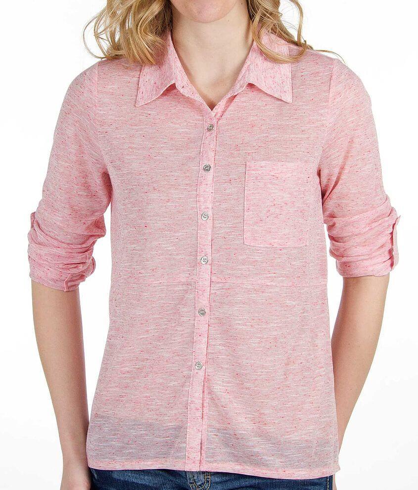Daytrip Slub Fabric Shirt front view