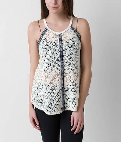 Eyeshadow Crochet Tank Top