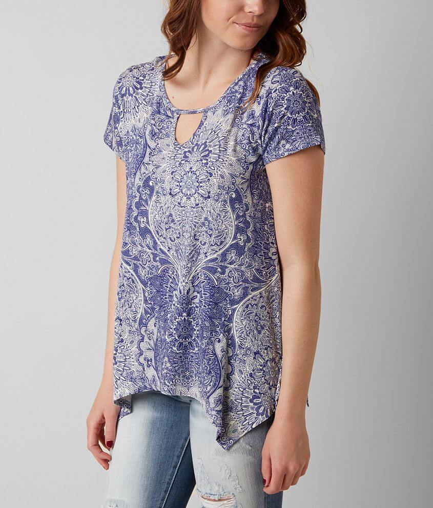 Daytrip Printed Top front view