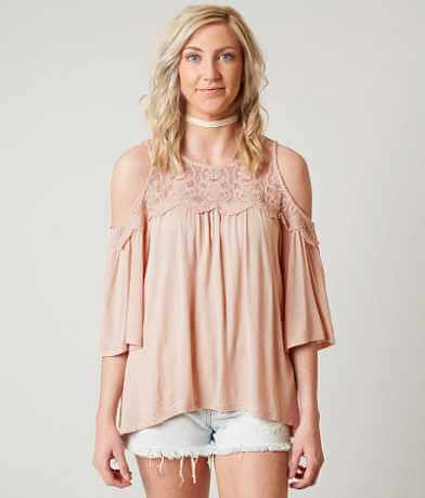 Eyeshadow Cold Shoulder Top