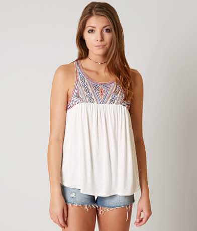 Daytrip Embroidered Tank Top