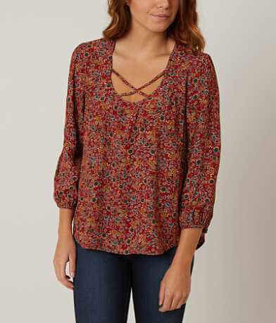Eyeshadow Printed Top