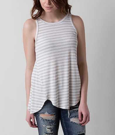 Eyeshadow Striped Tank Top