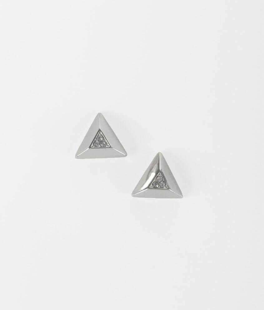 Daytrip Glitz Pyramid Earring front view