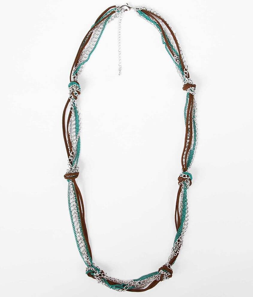 BKE Knotted Necklace front view