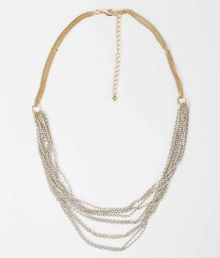 BKE Two-Tone Necklace front view