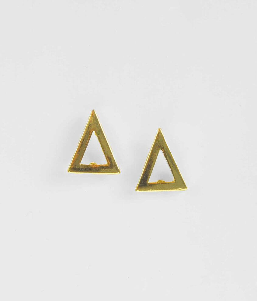 Daytrip Triangle Earring front view