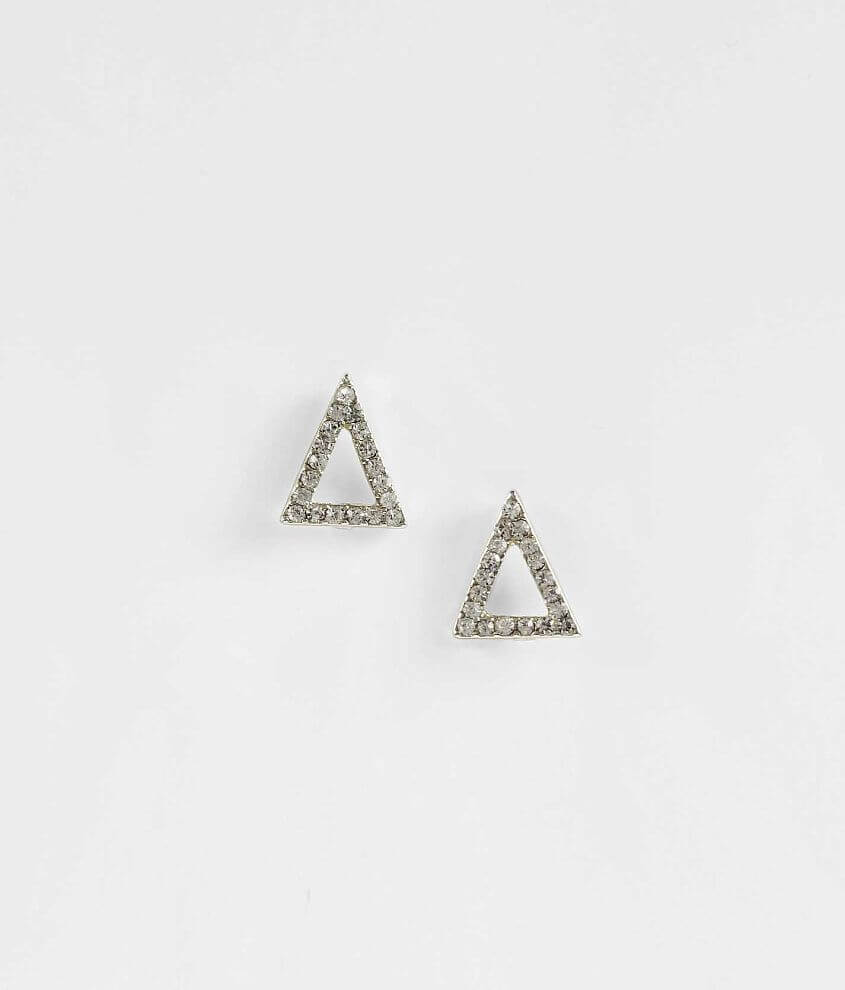 Daytrip Glitz Triangle Earring front view