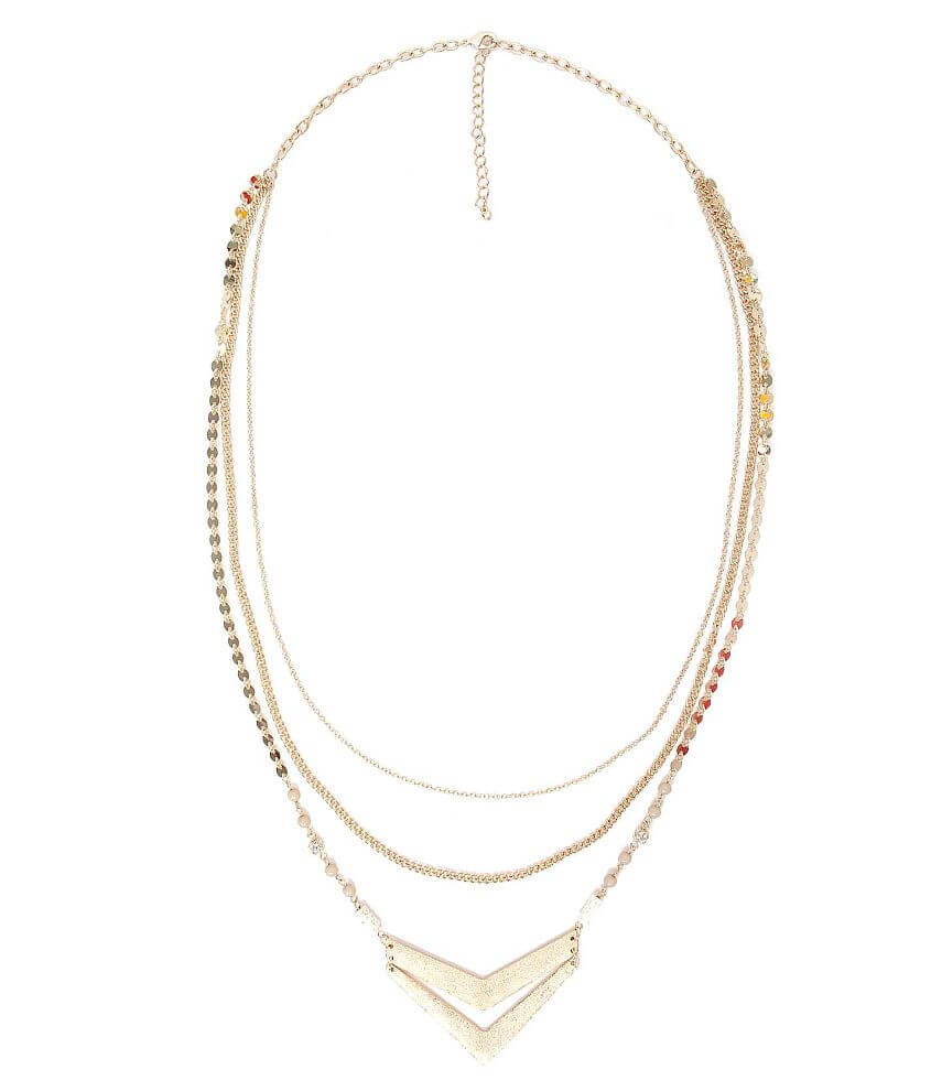 BKE Arrow Necklace front view