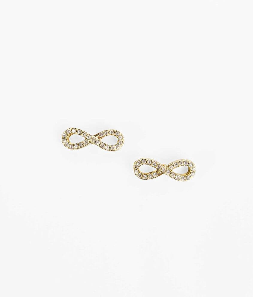 BKE Infinity Earring front view