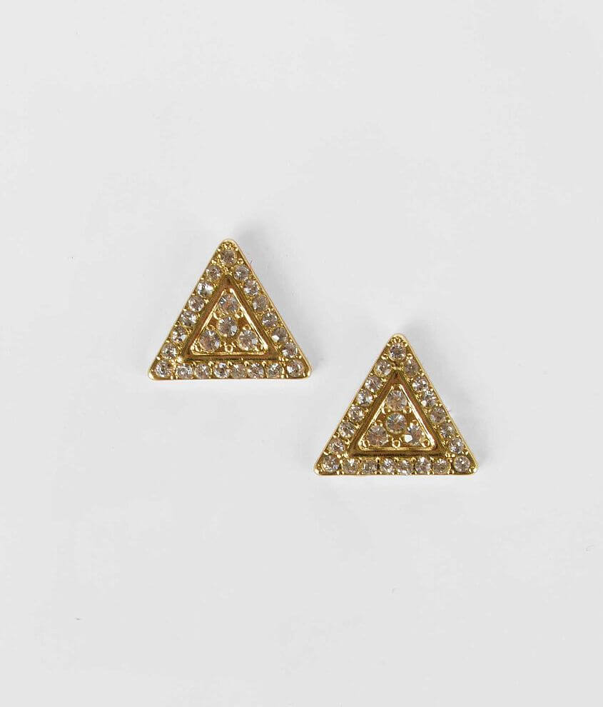 Daytrip Triangle Stud Earring front view