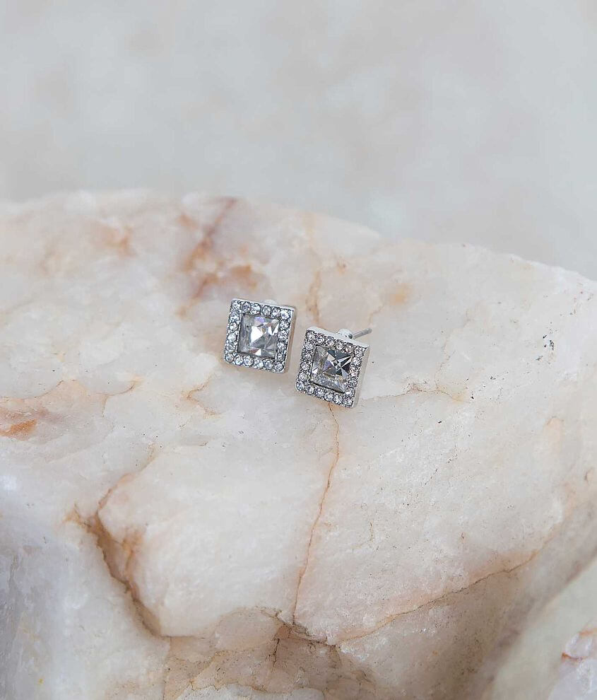 BKE Square Earring front view