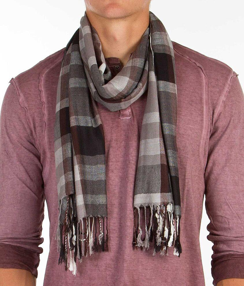 Plaid Scarf front view