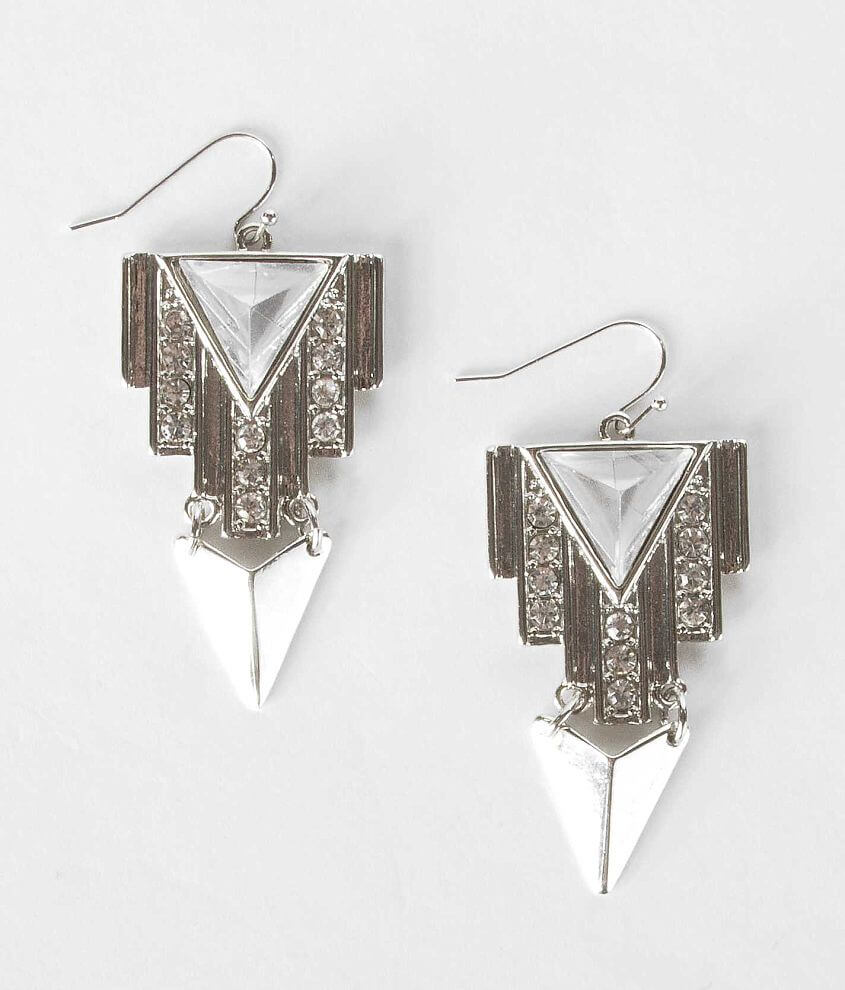 Daytrip Geometric Earring front view