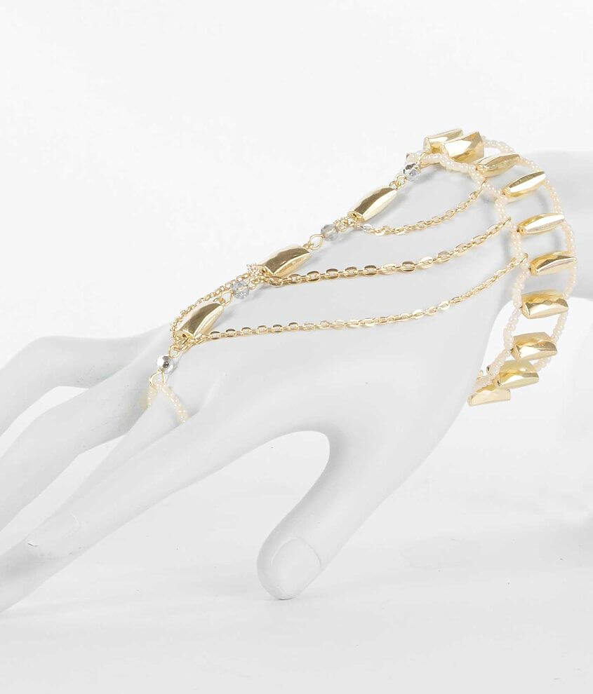 BKE Beaded Hand Jewelry front view