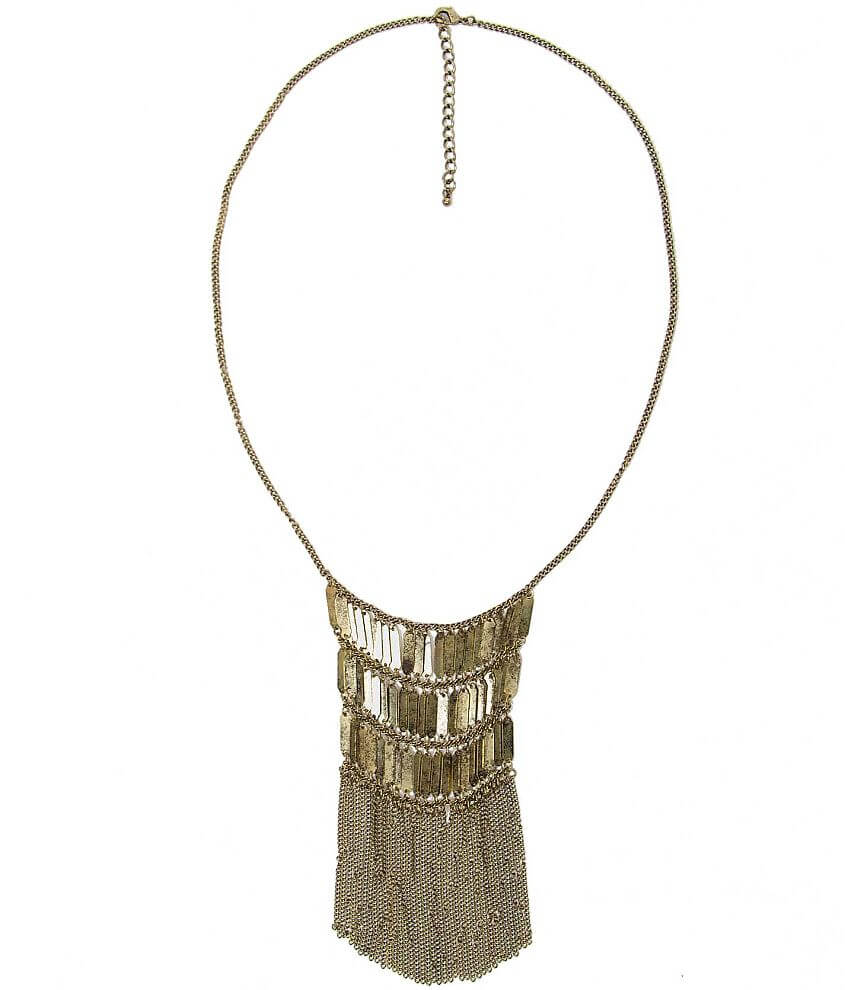 Daytrip Fringe Necklace front view