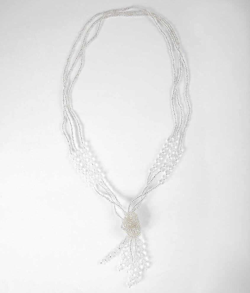 BKE Triple Row Necklace front view