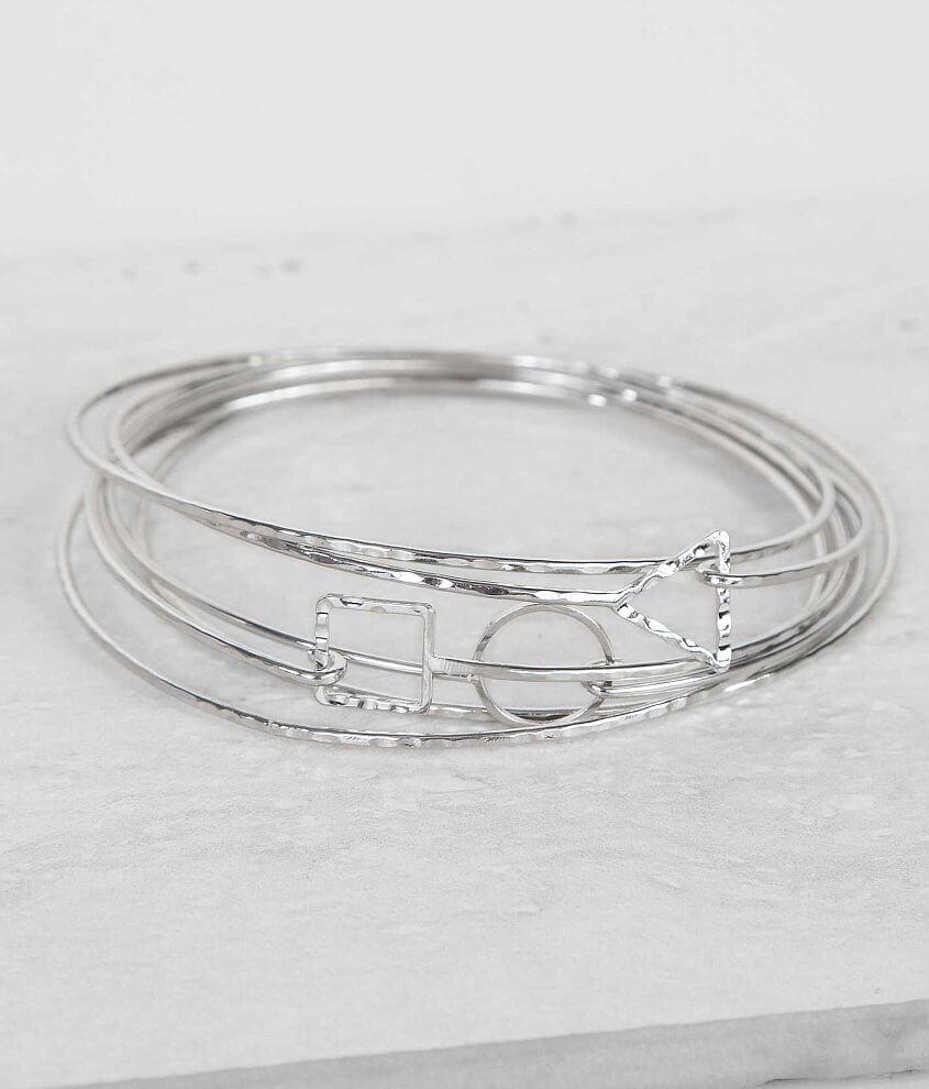 BKE Dainty Bracelet Set front view