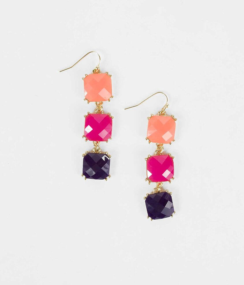 BKE Tiered Earring front view