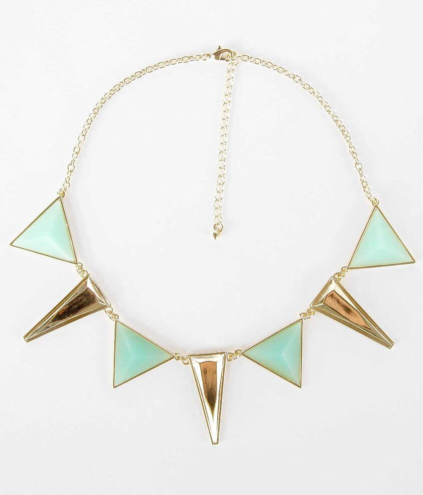 BKE Pyramid Necklace front view