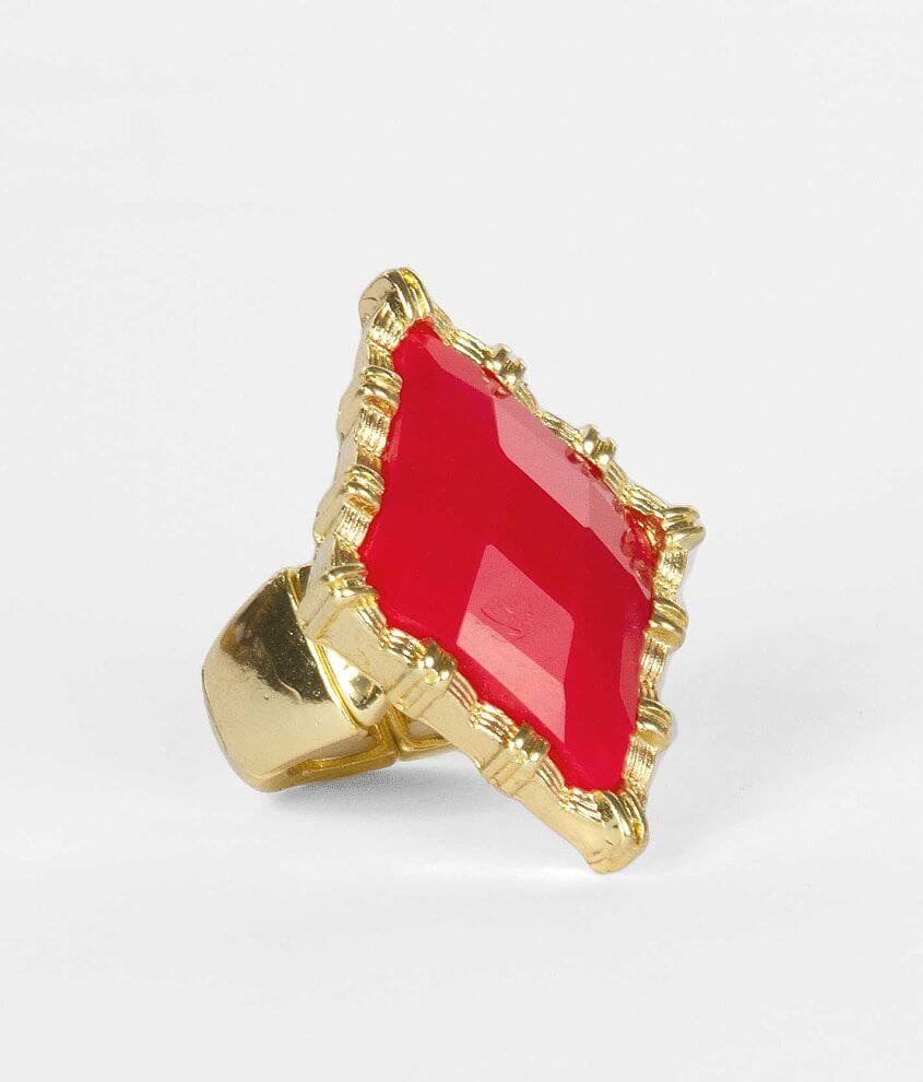 BKE Diamond Shape Ring front view