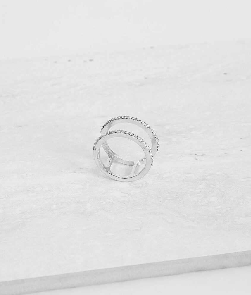 BKE Double Bar Ring front view