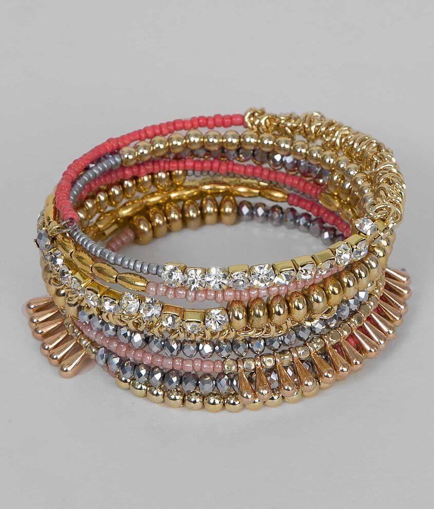 BKE Coil Bracelet front view