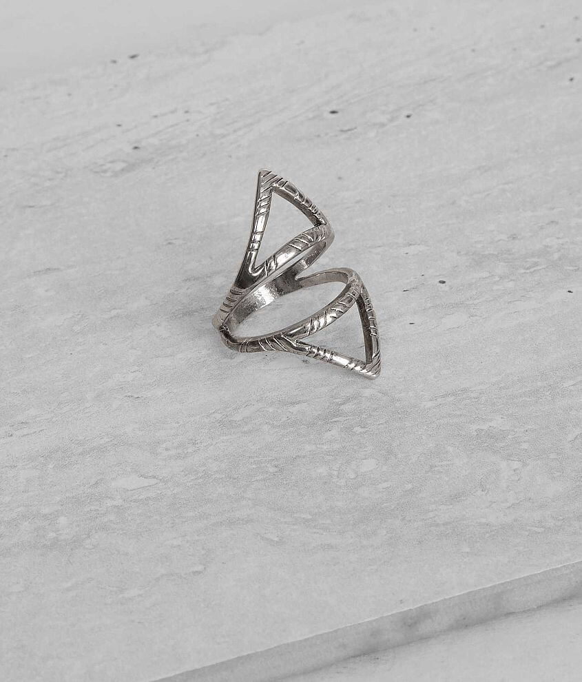 BKE Geometric Ring front view