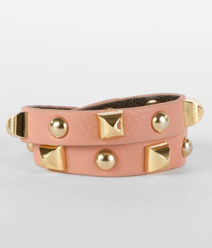 BKE Stud Wrap Bracelet front view