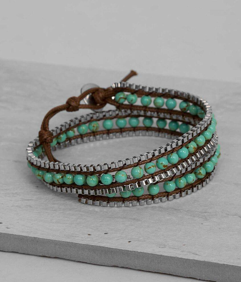 BKE Box Chain Bracelet front view