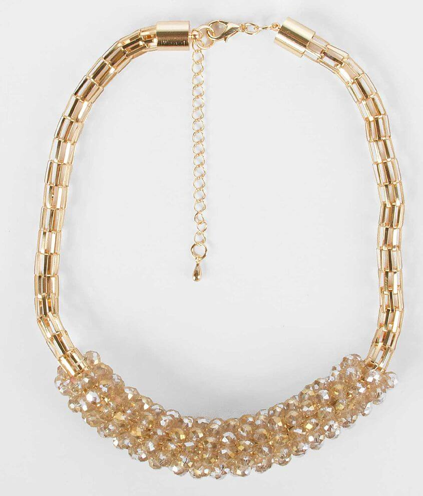 BKE Rondelle Bead Necklace front view