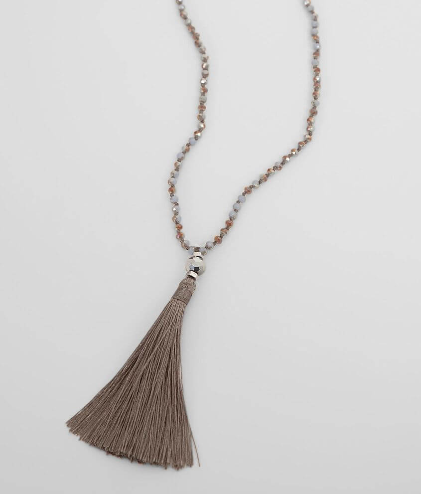 BKE Tassel Necklace front view