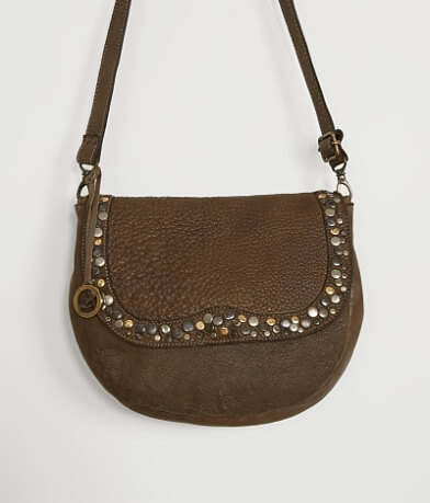 Leonardo Il Genio Studded Crossbody Purse