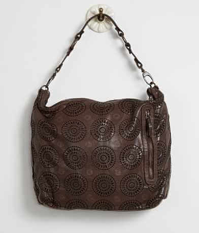 Gianni Conti Perforated Purse