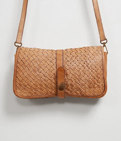 Straw Studios Weaved Crossbody Purse