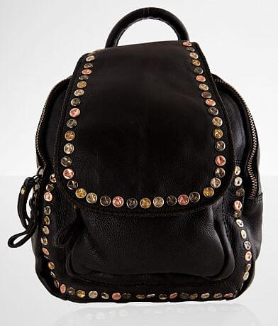 Civico 9 Studded Leather Mini Backpack