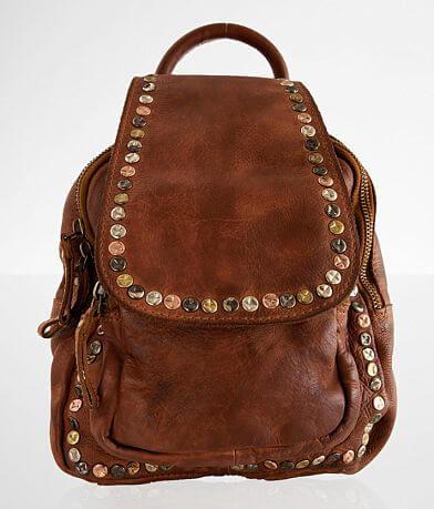Civico 9 Studded Leather Mini Backpack
