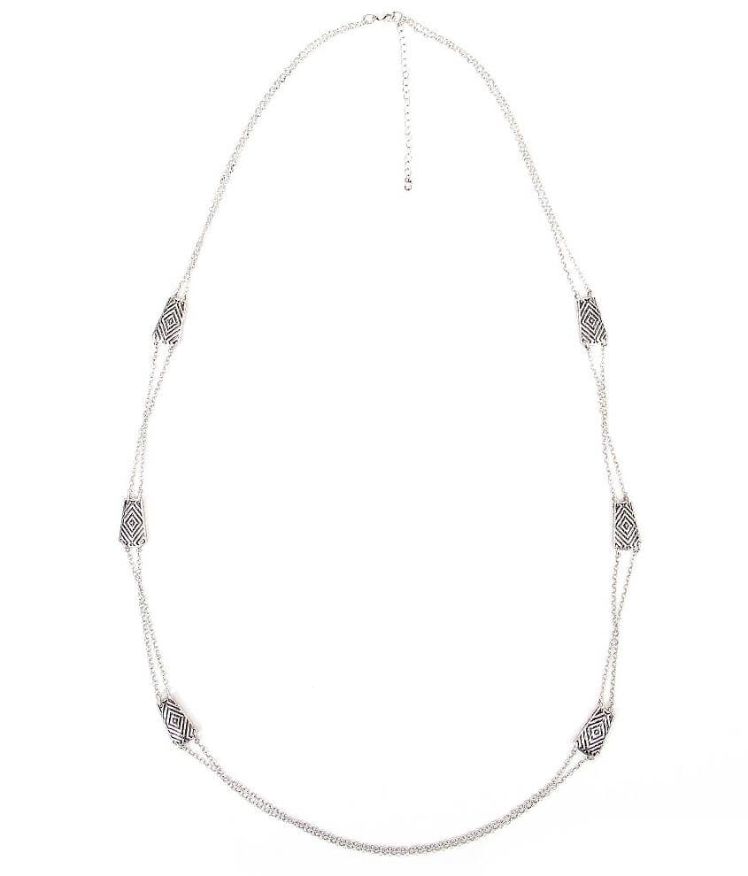 BKE Cut-Out Necklace front view