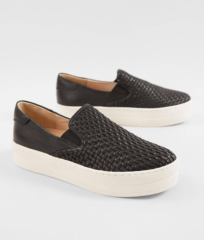 J/Slides Halsey Leather Shoe front view