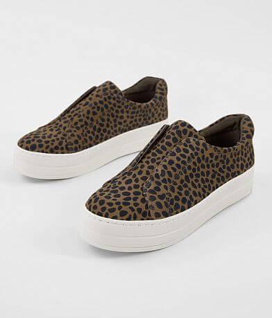 J/Slides Heidi Leopard Suede Shoe