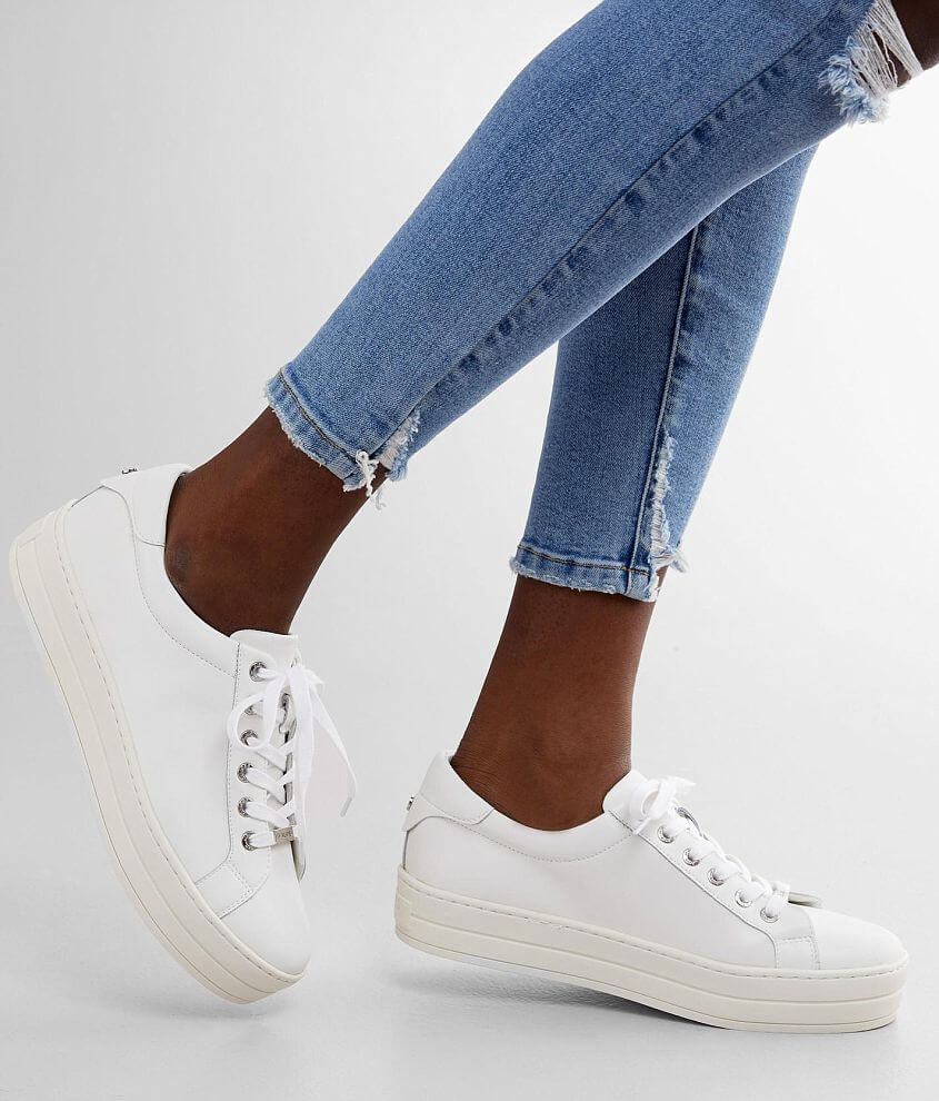J/Slides Hilton Leather Sneaker front view