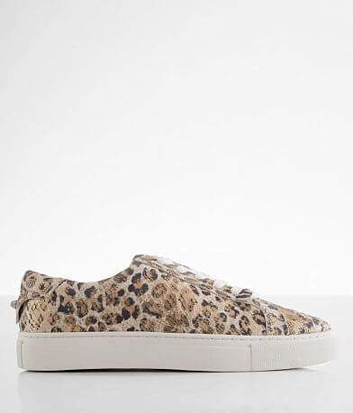 J/Slides Lacee Leopard Print Leather Shoe